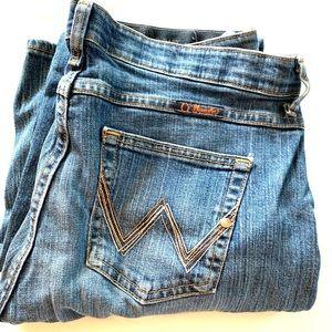 Wrangler Women's Denim Jeans Size W11/12 X 36